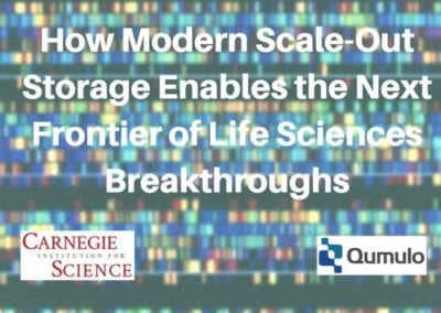 How Modern Scale-Out Storage Enables the Next Frontier of Life Sciences Breakthroughs