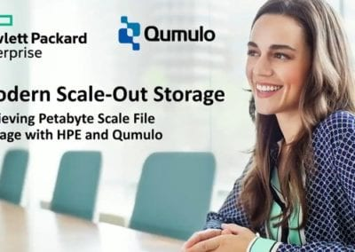 Modern Scale-Out Storage: Achieving Petabyte Scale with HPE & Qumulo