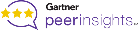 gartner peer reviews logo