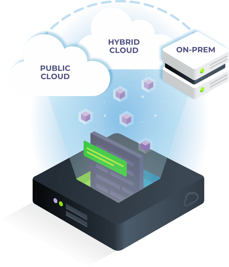 qumulo's file system is built for the hybrid cloud