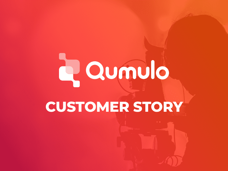 Leading Content Creator Turns to Qumulo For High Performance File Storage