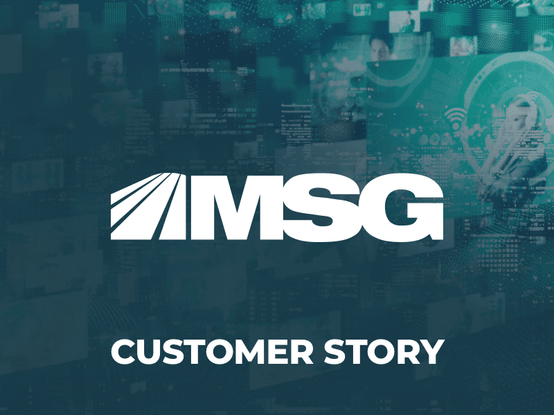 MSG Networks Achieves Performance Thanks to the Qumulo Software
