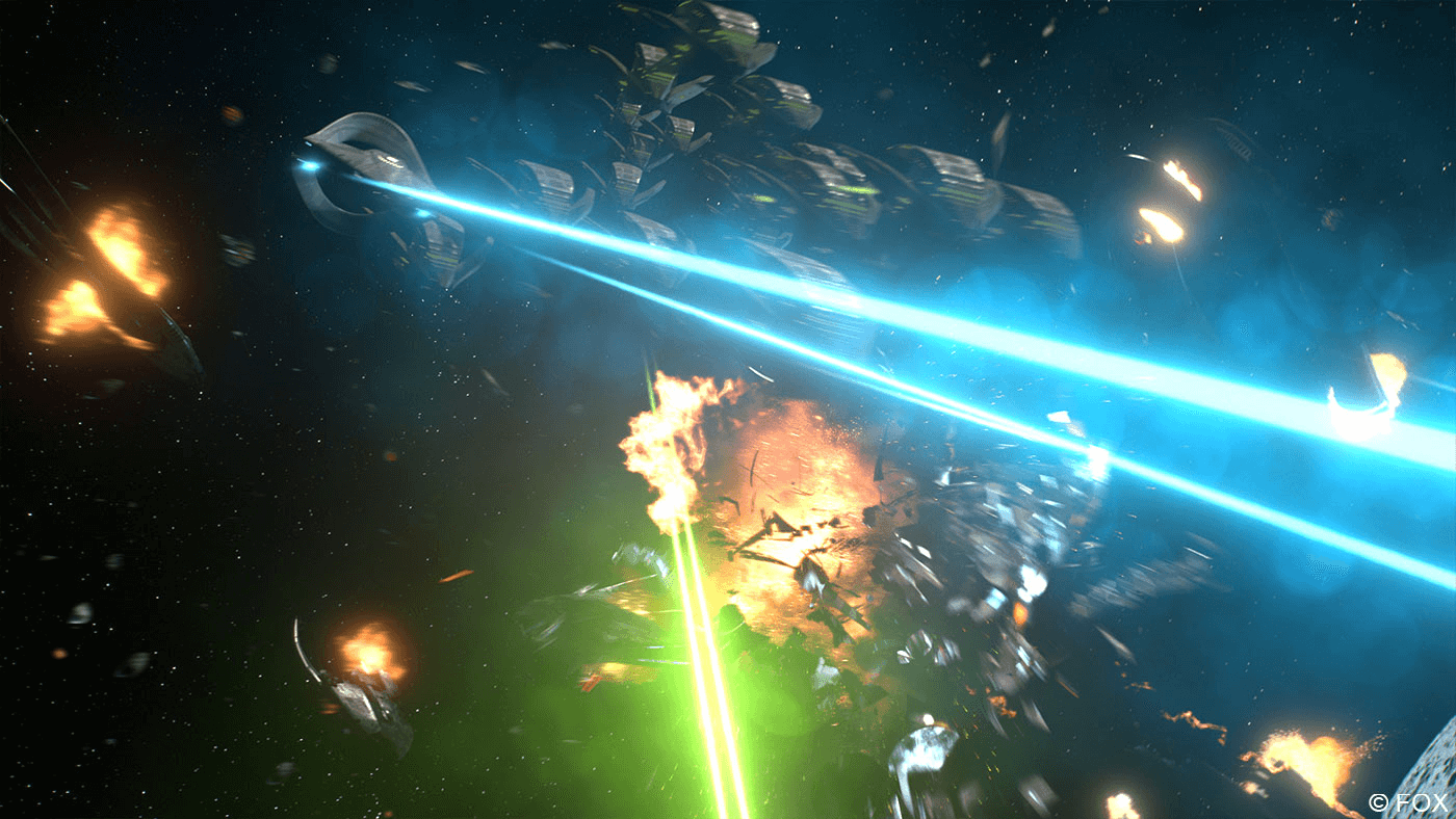 Image of VFX explosion