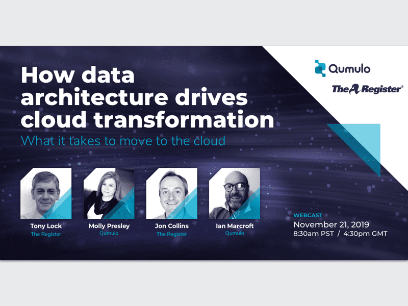 How data architecture drives cloud transformation