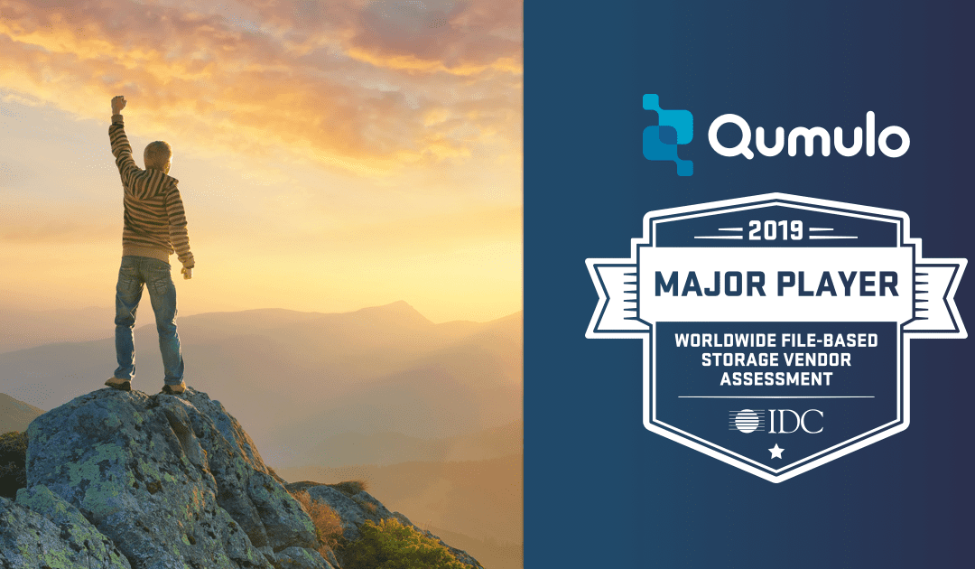 Qumulo Recognized as a Major Player in the IDC MarketScape for File-Based Storage