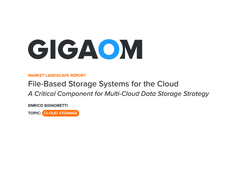 File-Based Storage Systems for the Cloud: A Critical Component for Multi-Cloud Data Storage