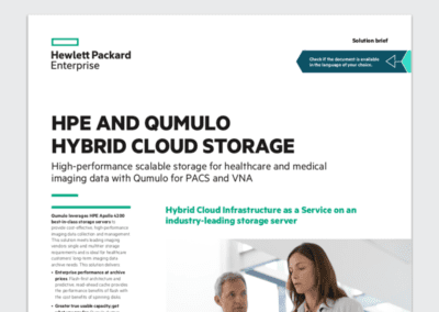 HPE and Qumulo Hybrid Cloud Storage
