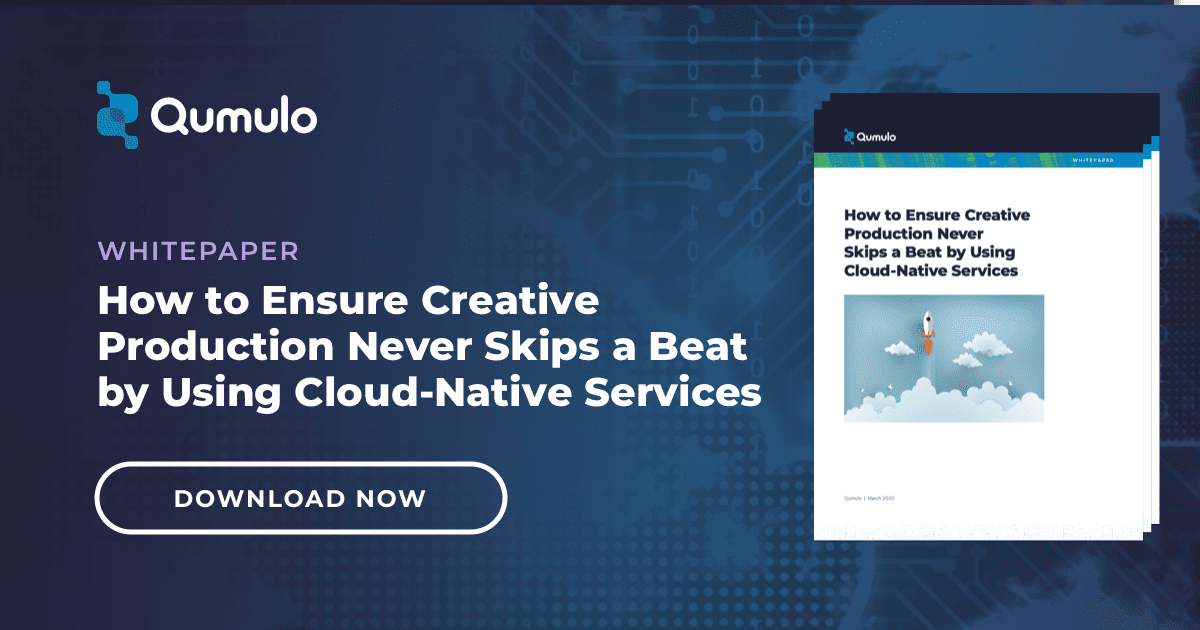 white paper - how to ensure creative production never skips a beat by using cloud-native services