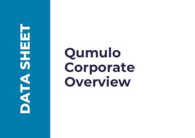 Qumulo Corporate Overview