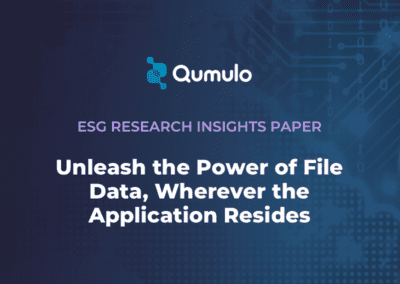 ESG Research Insights Paper: Qumulo Hybrid Cloud File Software: Unleash the Power of File Data, Wherever the Application Resides