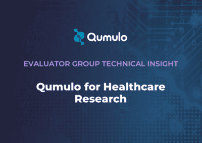 Qumulo for Healthcare Research