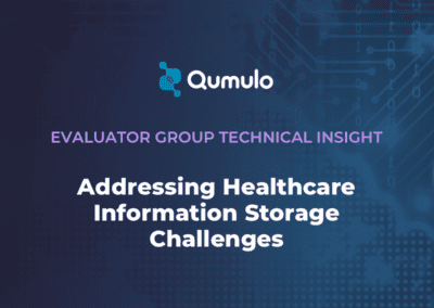 Addressing Healthcare Information Storage Challenges with Qumulo