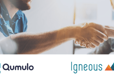 Igneous and Qumulo Announce Expanded Partnership