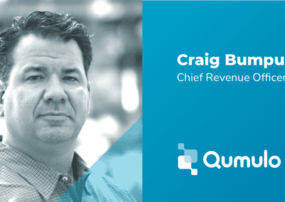 Qumulo Appoints Craig Bumpus as Chief Revenue Officer