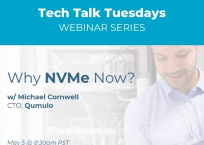 Pourquoi NVMe Now?