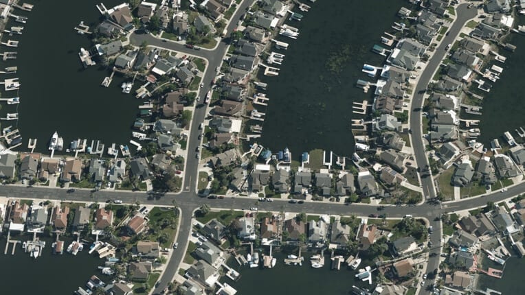 Vexcel Aerial Photography View of Marina