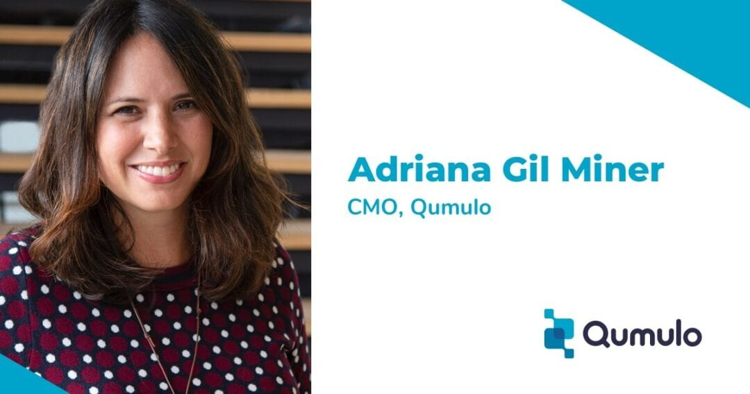 Qumulo nomme Adriana Gil Miner au poste de directrice du marketing