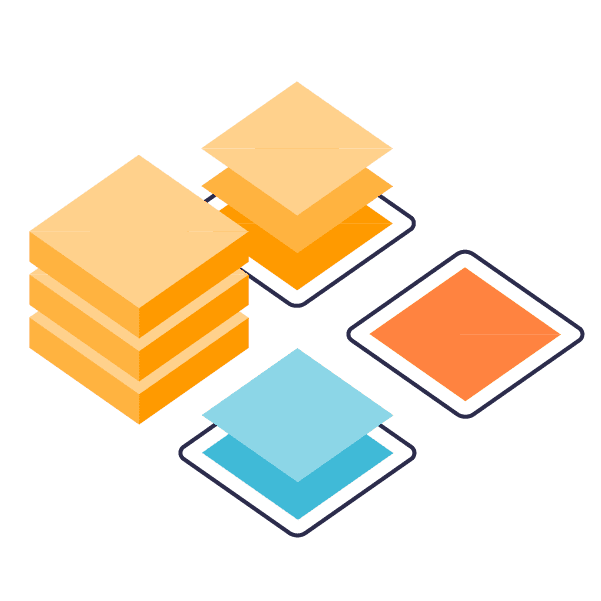 file data platform: abstract icon symbolizing enterprise abilities