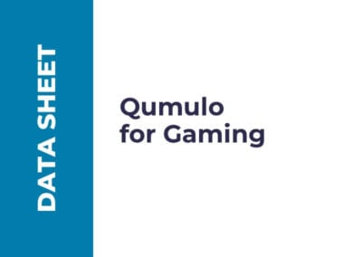 Qumulo for Gaming