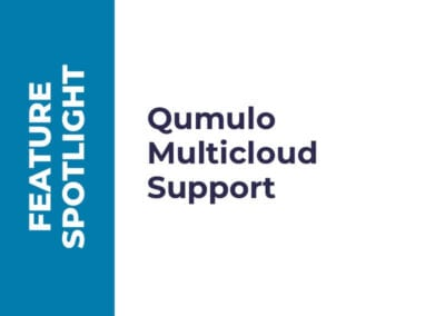 Prise en charge de Qumulo Multicloud