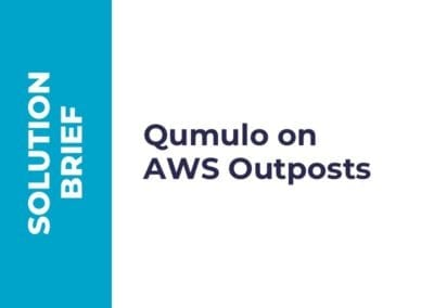 Qumulo on AWS Outposts