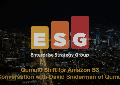 Qumulo Shift for Amazon S3: A Conversation with David Sniderman of Qumulo