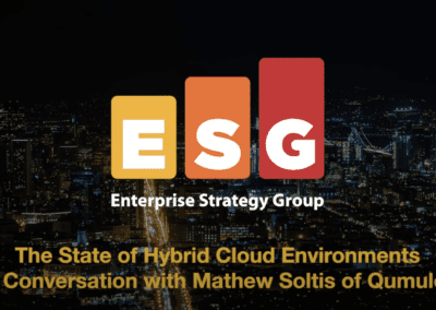 The State of Hybrid Cloud Environments:  Qumulo's Mathew Soltis & ESG Senior Analyst, Scott Sinclair