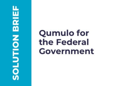 Qumulo for the Federal Government