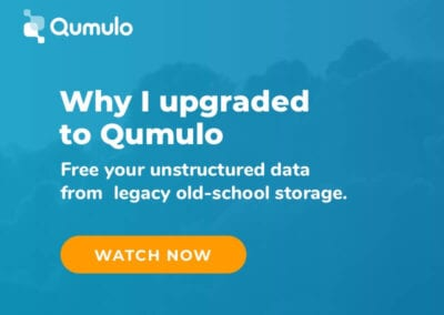 Why I upgraded to Qumulo. Free your unstructured data from legacy old-school storage