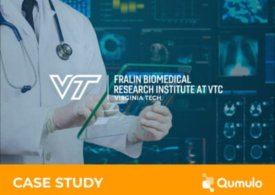 Qumulo Helps the Fralin Biomedical Research Institute (FBRI) Create a Healthier Future for Everyone