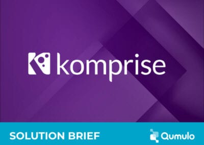 Qumulo with Komprise for Analytics and Data Migration