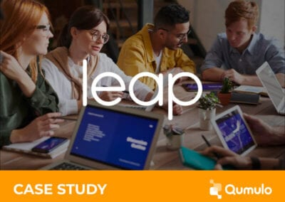 LEAP Accelerates Performance with Qumulo on the Fast Track to the Cloud