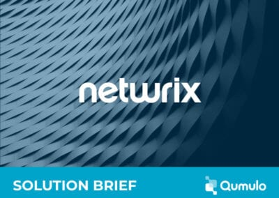 Netwrix with Qumulo for Intelligent File Data Security
