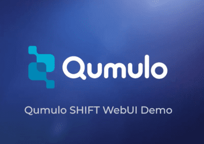 Demo: Qumulo Shift WebUI