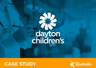 Dayton Children's Hospital Partners with Qumulo to Improve Healthcare Experience for Young Patients and Their Families