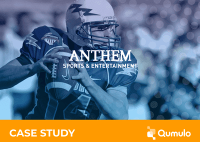 Anthem Sports & Entertainment Massively Improves Reliability and Productivity, Consolidates 10 Channels of Broadcast Content onto Qumulo
