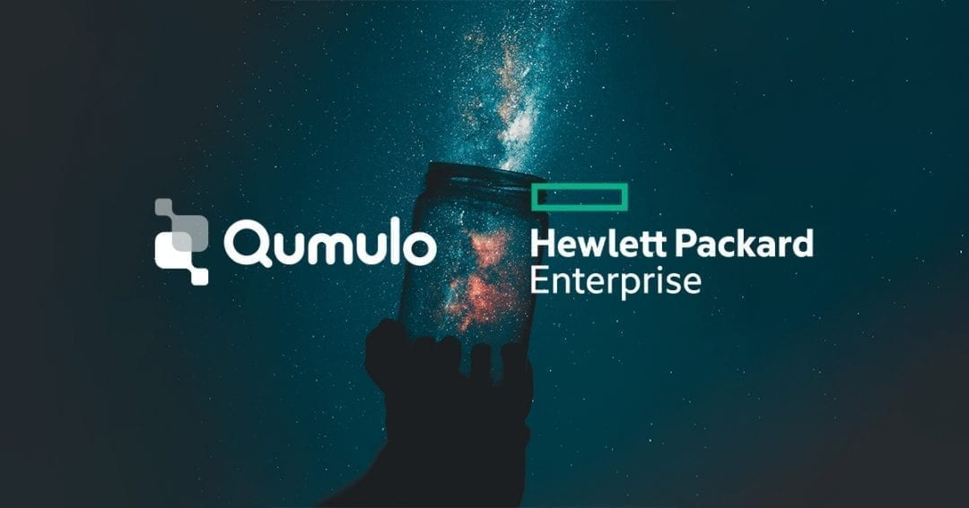 Qumulo and HPE GreenLake Cloud Services to Provide a Pay-As-You-Go File Platform for Unstructured Data