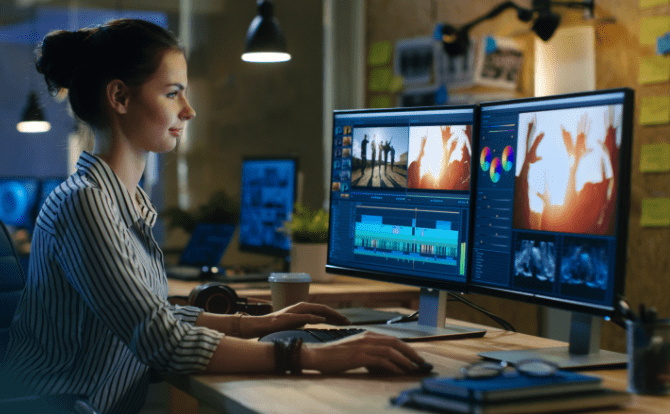 Qumulo Studio Q is a post production platform for creative teams that replicates collaborative editorial production in the cloud.