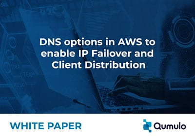 DNS options in AWS to enable IP Failover and Client Distribution