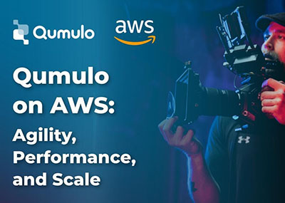 How Qumulo Can Help You Gain Agility, Performance, and Scale on AWS – Webinar